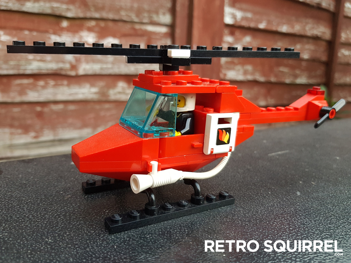 Lego 6657 Fire rescue helicopter with water cannons